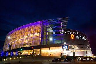 Beautiful new 19,199 seat BOK Arena.