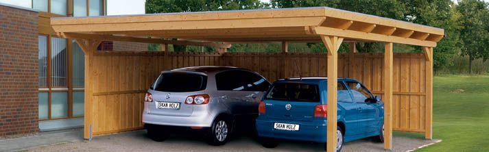Choisir un abri pour la voiture maison pinterest for Pergola pour voiture