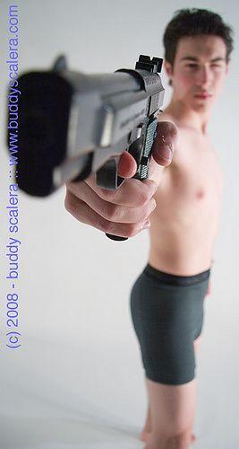 "https://flic.kr/p/5vW85J | Gun Angle Kid | Samples from the book  Samples from the book Comic Artist's Photo Reference: Men & Boys by Buddy Scalera -- (c) 2008 Buddy Scalera.  <a href=""http://buddyscalera.com/comic_artists_photo_reference_3/index.htm"" rel=""nofollow"">buddyscalera.com/comic_artists_photo_reference_3/index.htm</a>"