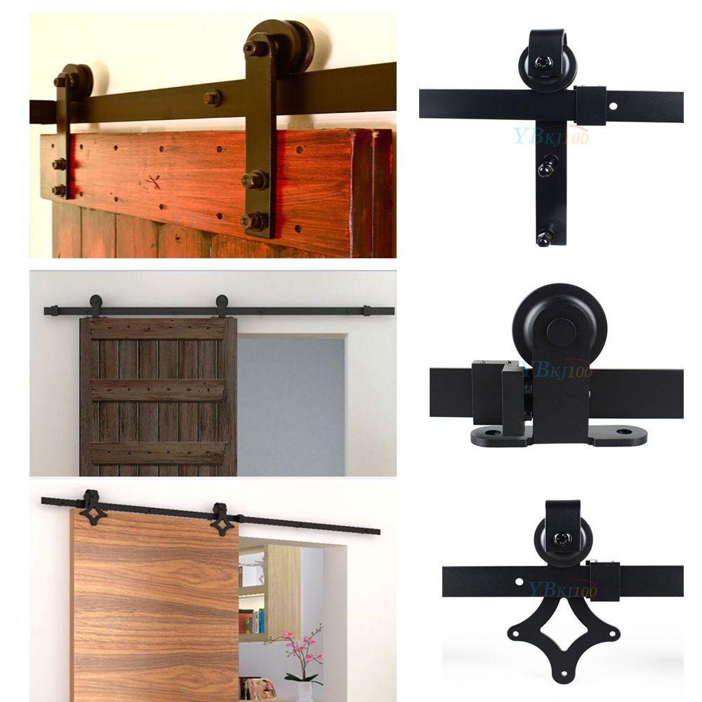 details zu schiebet rsystem t rbeschlag laufschiene schiebet r edelstahl 183 200cm 3 modell. Black Bedroom Furniture Sets. Home Design Ideas