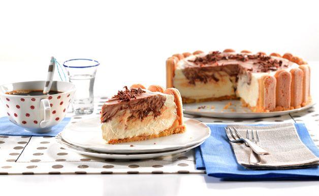 frischk se nougat torte rezept mit bild ritter leckere schokorezepte pinterest. Black Bedroom Furniture Sets. Home Design Ideas