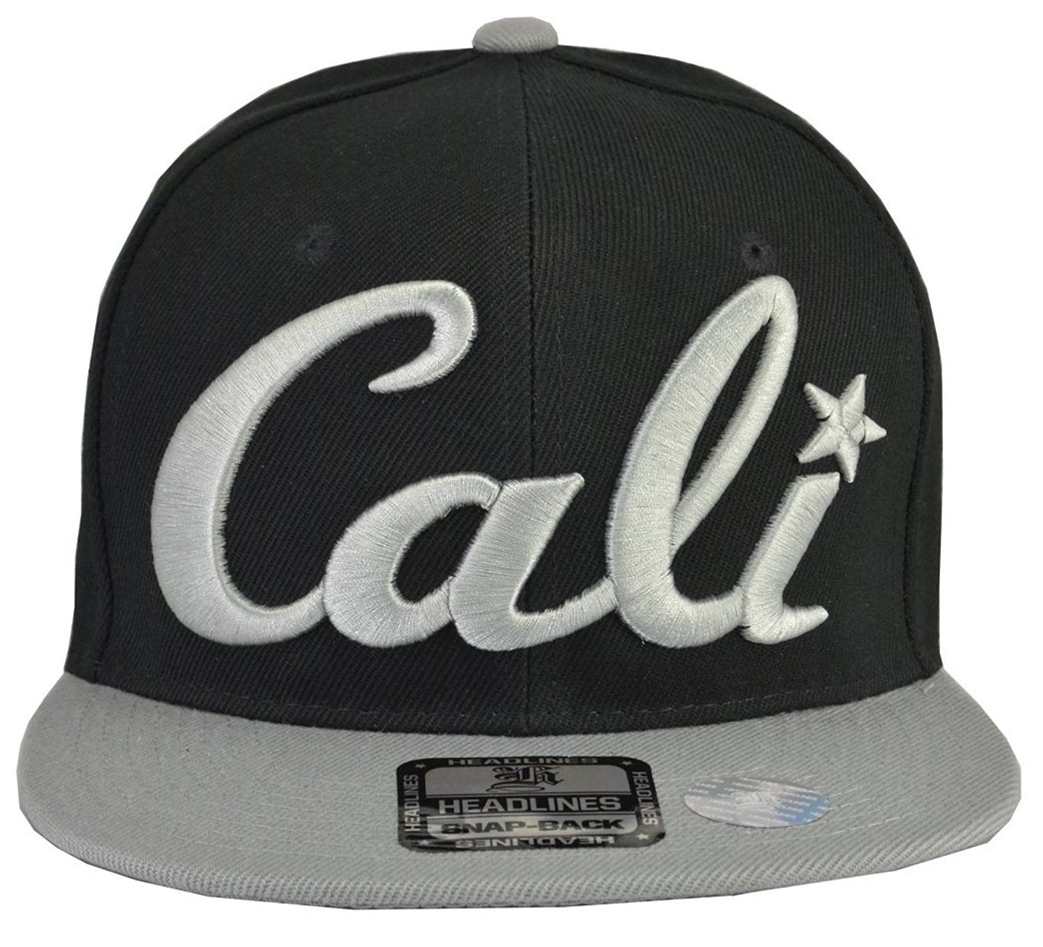 282c8878fba Cali Hats - California Embroidered Cap (7 Styles  amp  Colors) - Cali Black