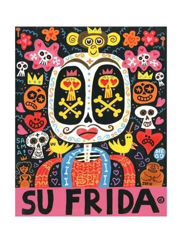 El Mexicano Super Macho Zapata Jorge R Gutierrez Mexican Art Print