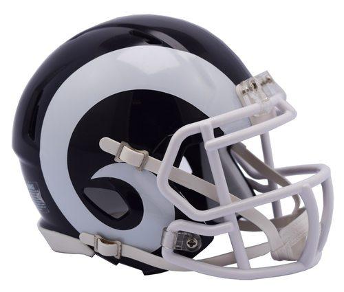 Riddell Los Angeles LA Rams NEW 2017 Officially Licensed Speed Full Size Replica Football Helmet