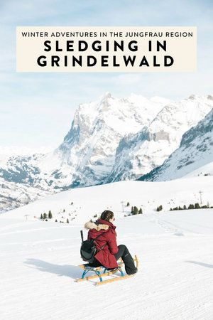 Photo of Things to do in Grindelwald: Sledding in the Jungfrau Region — ckanani luxury travel & adventure