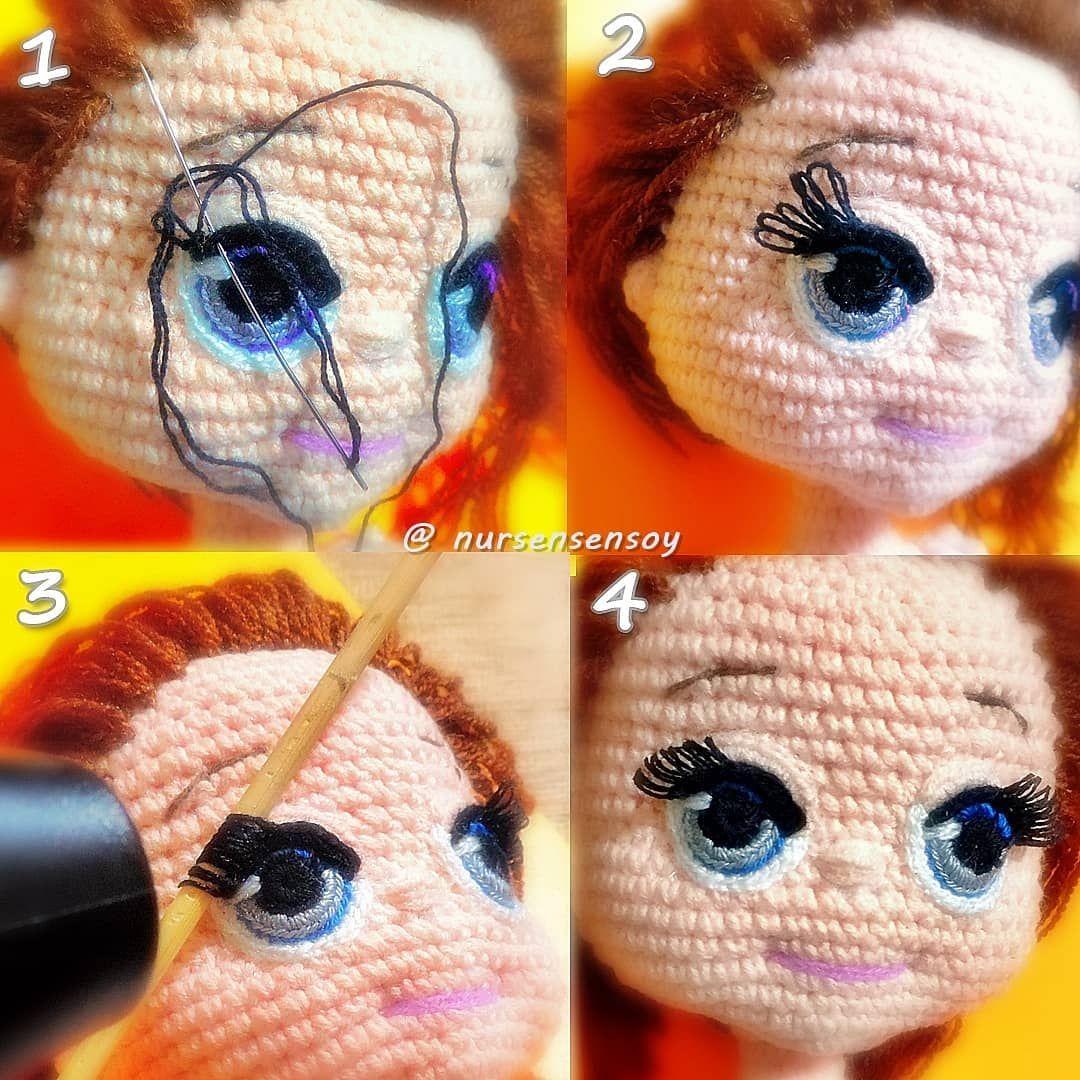 45 cm boyunda 😊🤗 #amigurumi #bebek #oyuncak Pattern: Aydan ... | 1080x1080