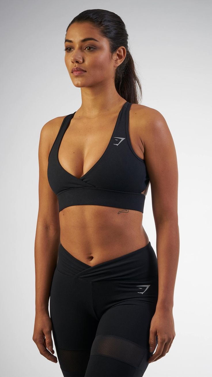 ffa0b235ce56e The most flattering Sports Bra you could possibly own. With a low-cut front