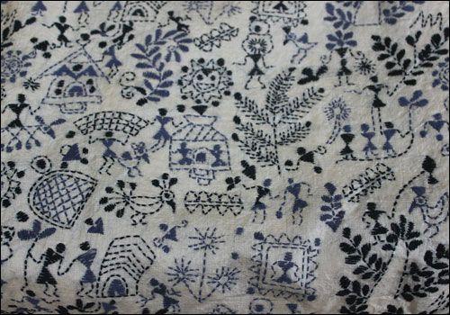 Kantha Stitch Takes Fashion Furnishings By Storm C Sujatha Bhagath Kantha Stitch Embroidery And Stitching Kantha