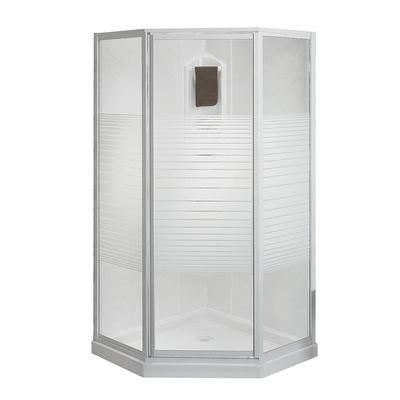 Keystone by MAAX - Cosmos 38 Inches Neo-Angle Corner Shower ...