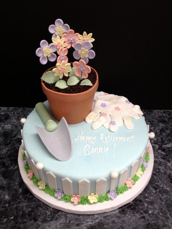 images of cakes with garden theme - photo #42