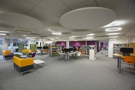Abingdon Witney College Library Design library Design
