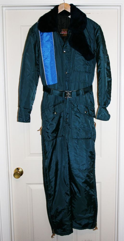 vtg 70s ladies walls blizzard pruf insulated coveralls on walls coveralls id=83235
