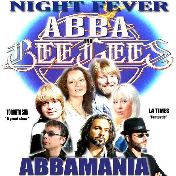 Nightfever and ABBAMANIA at Palm Desert's McCallum Theatre, January 8, 2016