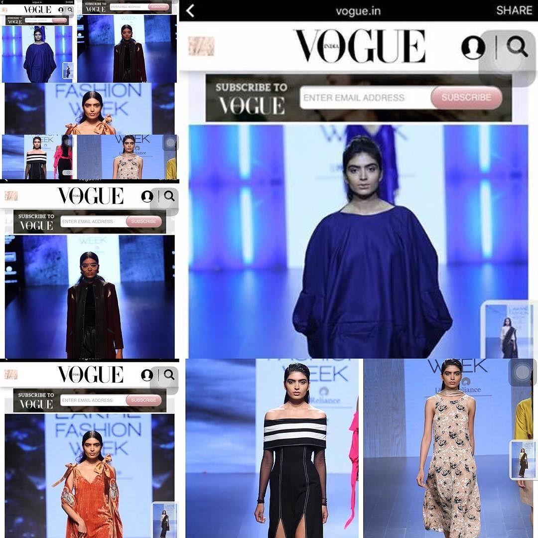 Vishakha b for LFW #lfw#bookingsopen #intown #fashionweek #lakme…