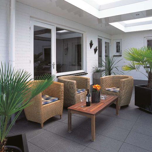 Arcadia Padua #dakterras #tuintegels #tiles #outdoor Balkon
