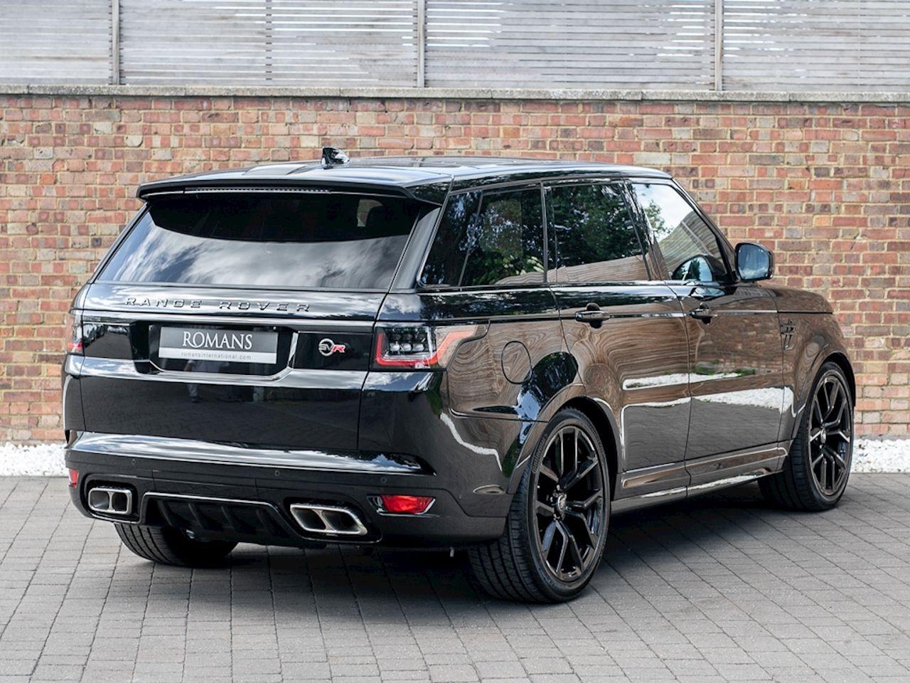 2018 Used Land Rover Range Rover Sport Svr Santorini Black Luxury Cars Range Rover Range Rover Sport Black Range Rover Black