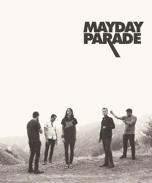Mayday Parade. Umm... Yes Please. c: Perfection ;-;