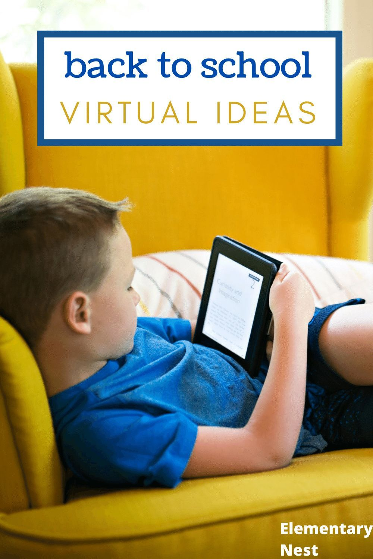 Back to School VIRTUAL Ideas in 2020 Back to school