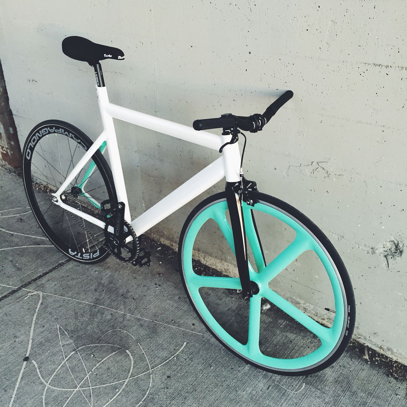 Custom Leader 725 Campagnolo Aerospoke Bicycle Pinterest