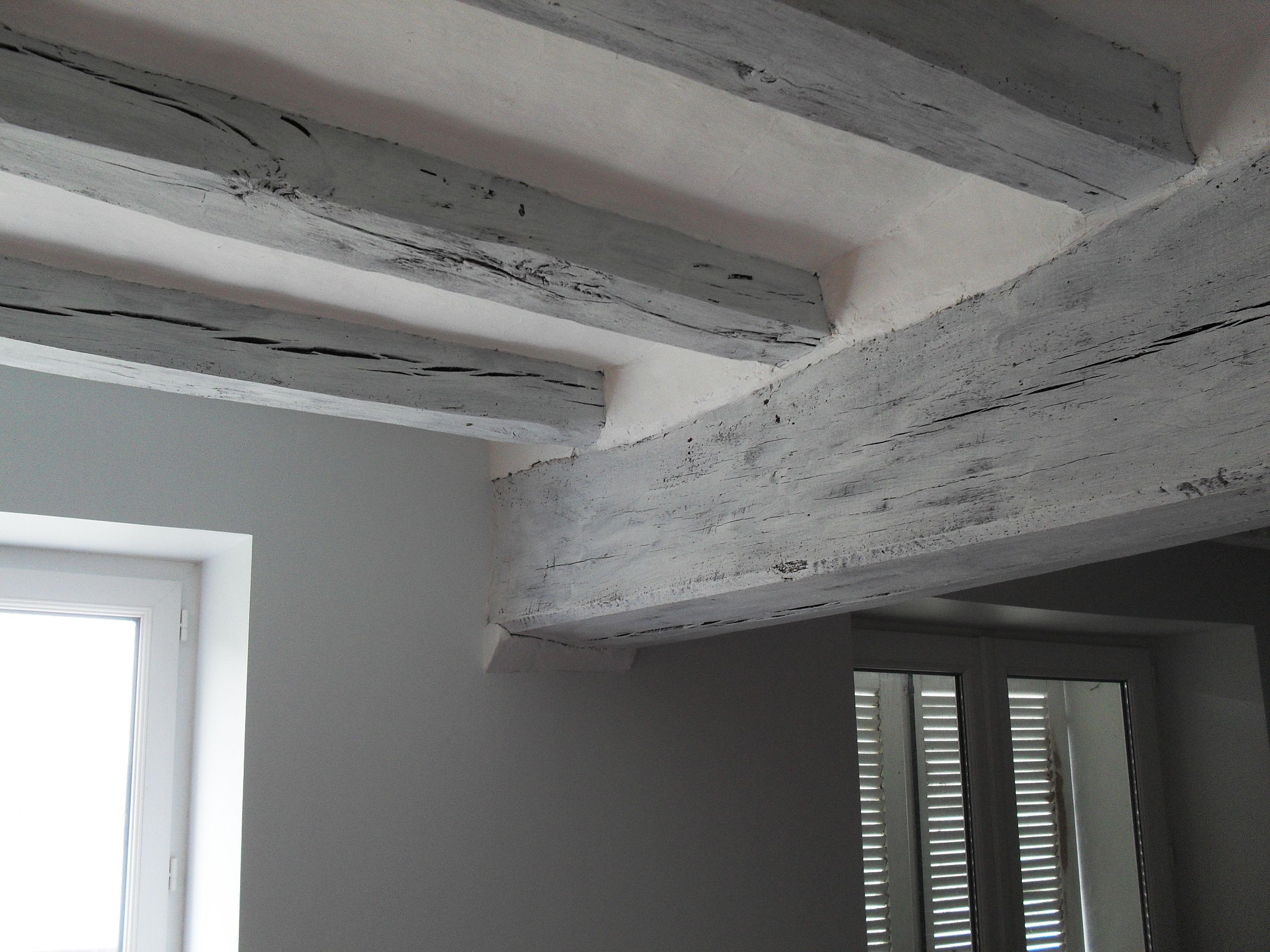 Deco peinture maison 2 last tweets about peinture poutre id es couleur pinterest - Peindre des poutres anciennes ...