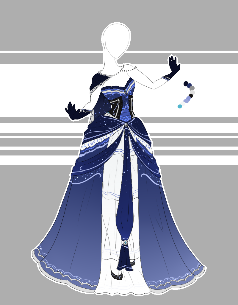 Outfit adoptable closed by scarlettknightviantart on