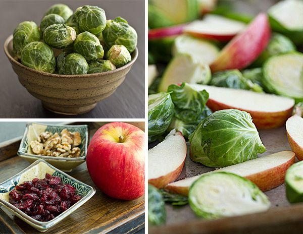 Roasted Brussels Sprouts and Apples Recipe | Dried ...