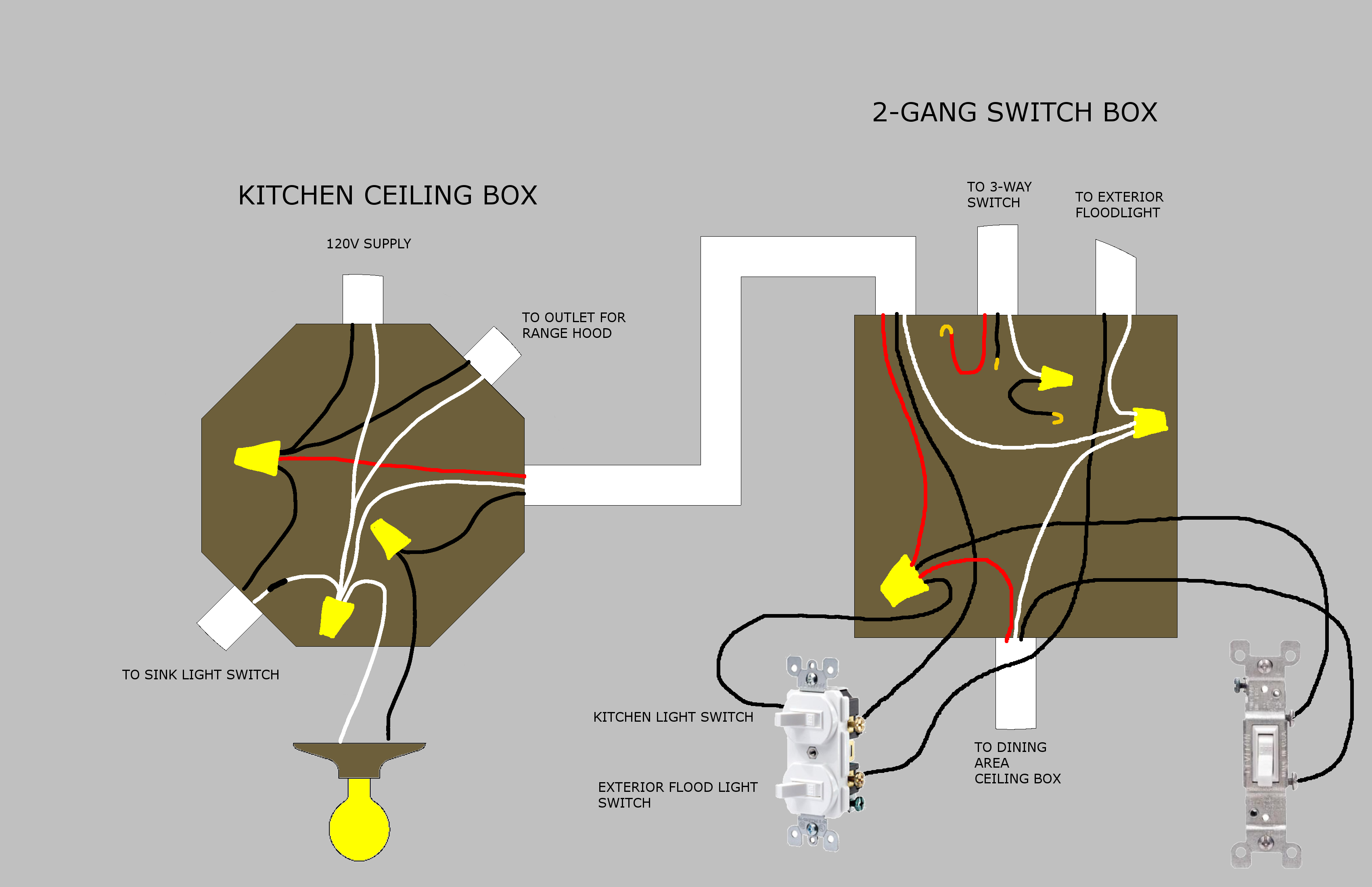 New Wiring Diagram For Multiple Lights On A Three Way Switch Diagrams Digramssample Diagramimages C Light Switch Wiring Three Way Switch Ceiling Rose Wiring