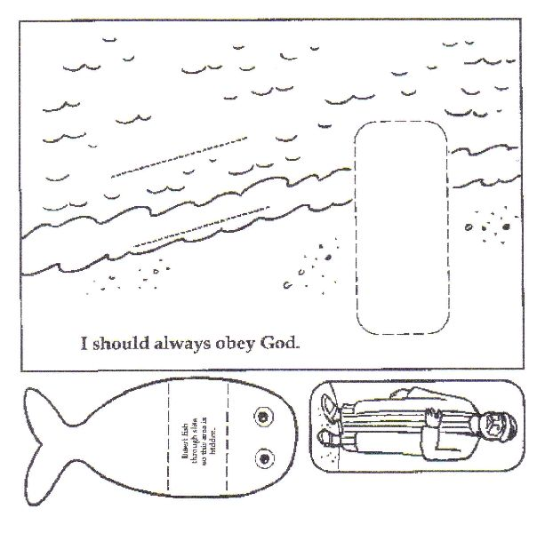 Jonah And The Whale Bible Lesson Suite101 | ВШ - Иона | Pinterest ...