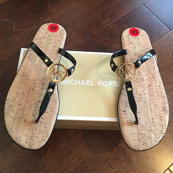 Michael kors black sandals Brand new pair of sandals with box. ❗️no further offers or bundle discounts ❗️ MICHAEL Michael Kors Shoes Sandals
