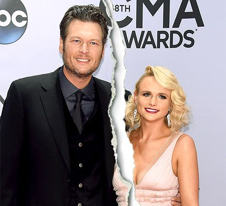 Blake Shelton Miranda Lambert Split After Four Years Of Marriage Read Their Statement Blake Shelton And Miranda Blake Shelton Miranda Lambert Blake Shelton