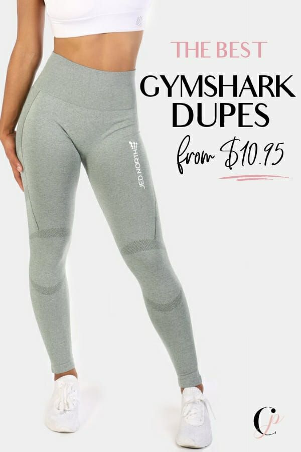 80e76000885e7d The Best Gymshark Dupes On Amazon To Save Serious Coin - These Gymshark  leggings look alike are almost the exact same as the originals.