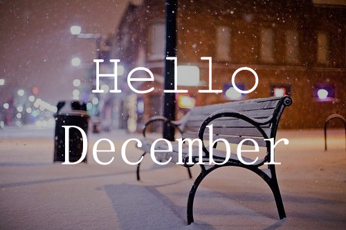 Incroyable Hello December | Tumblr