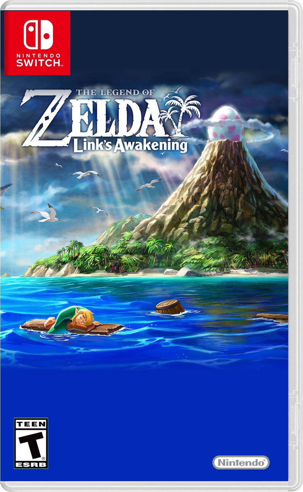 Switch The Legend Of Zelda Link S Awakening Remake