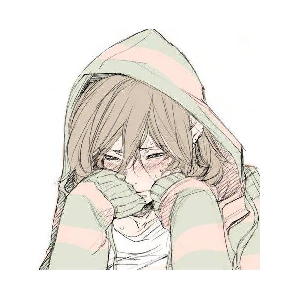 sad anime | Tumblr ❤ liked on Polyvore | Anime | Pinterest | Sad ...