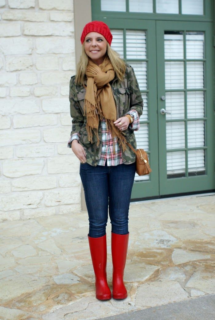 plaid and camouflage outfit idea  b1f7519dd811