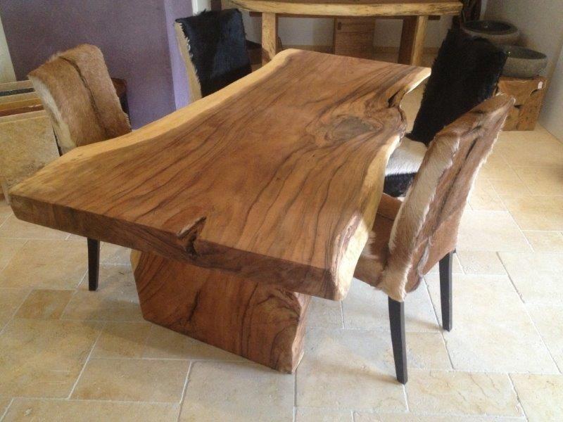 Tisch Aus Baumstamm Esstisch Massivholz Tisch Und Holztisch