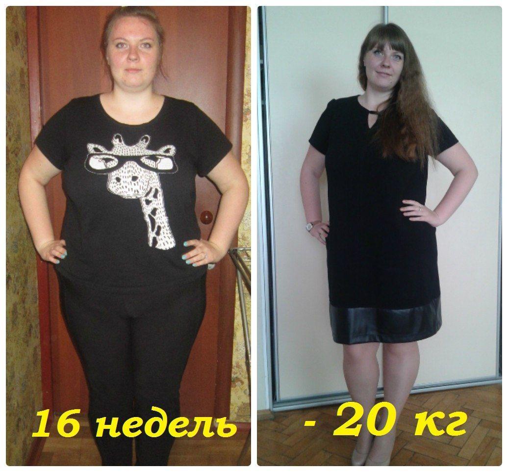 Результат похудения в картинках