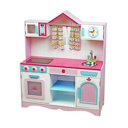 Cocinita de juguete de madera con sonidos infantiles - Cocina madera imaginarium ...
