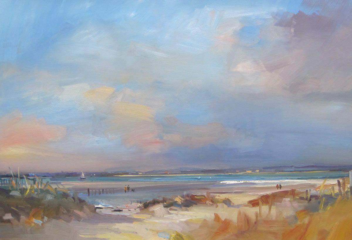 David atkins seascape paintings cityscape art sky art