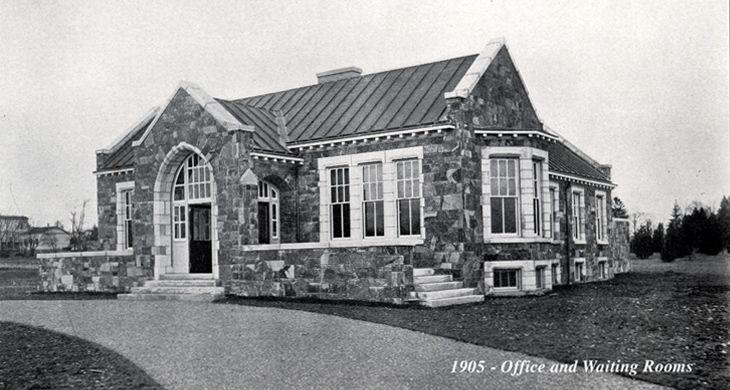 History of swan point cemetery garden cemetery