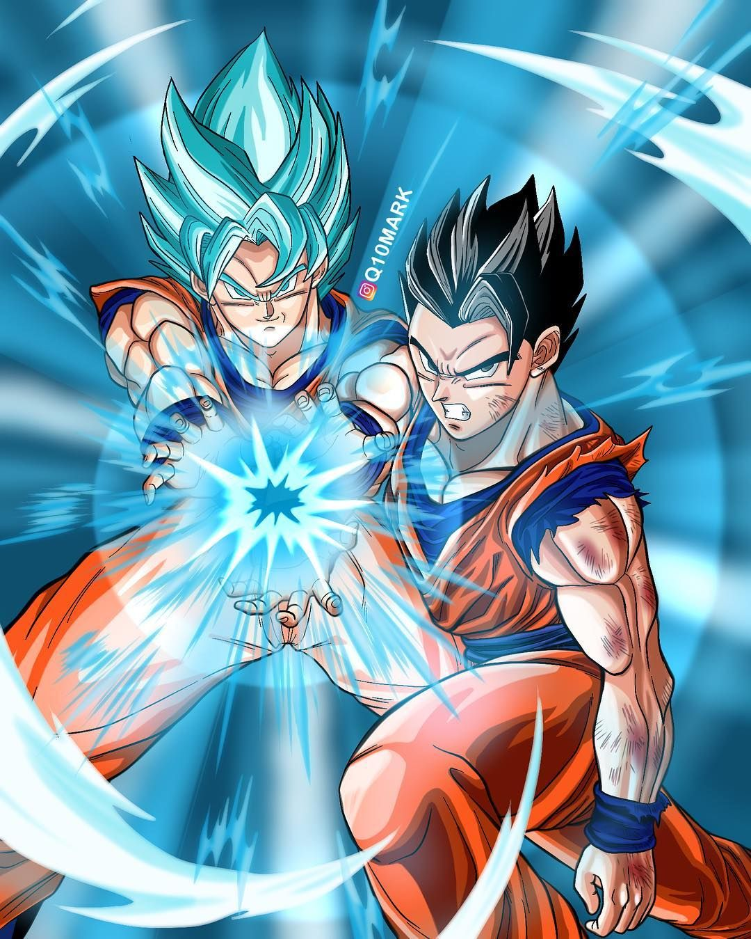 b8a2619c Father and Son Kamehameha, Done! Pls turn on post notifications 📲 * Tag  your friends!! Subscribe to my YouTube Channel!! Link in my Bio…