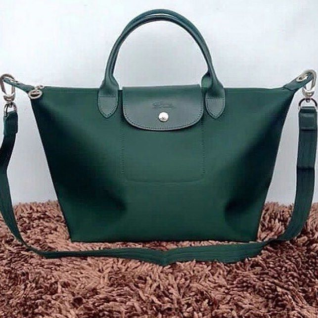 Longchamp Neo Planetes - MSH- Emerald Green Sale Price: P2990 ...