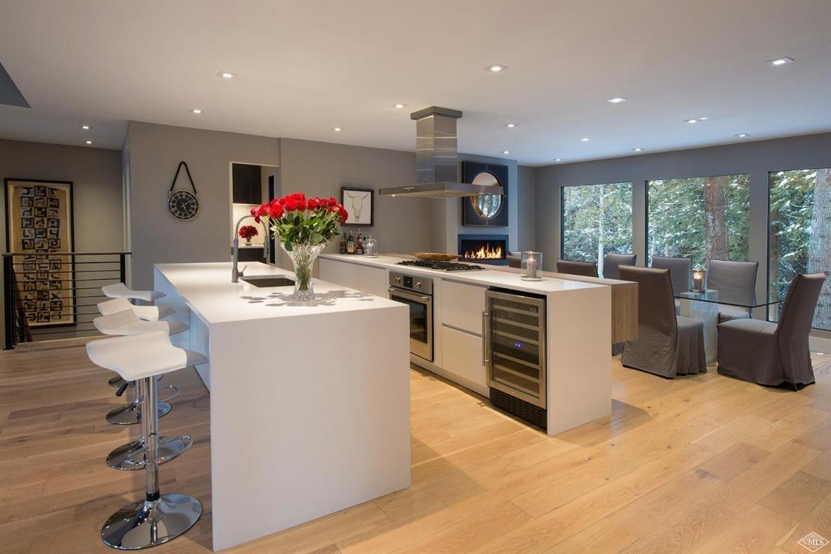 Beaver Project | Modern kitchen island, House design ...