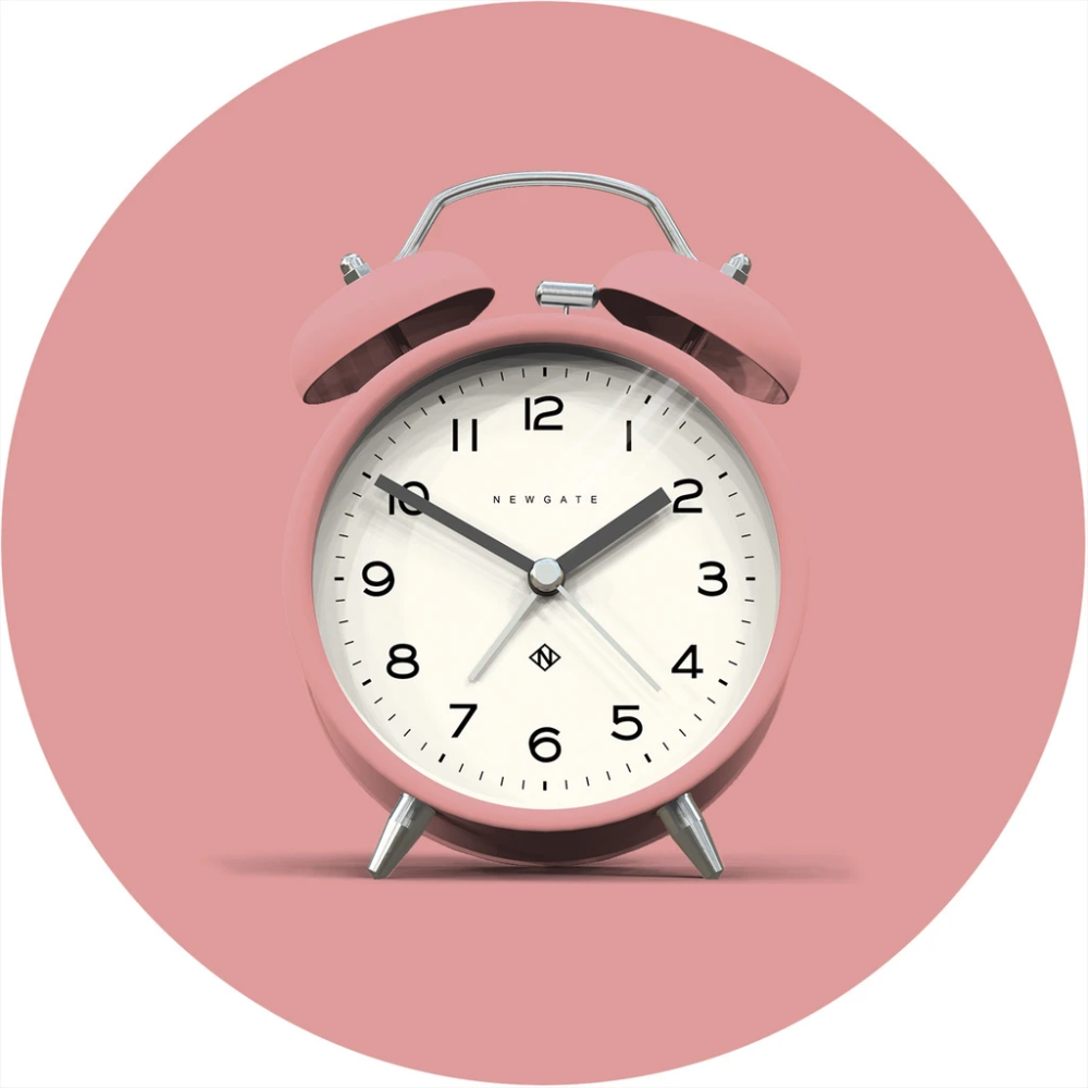 Charlie Bell Echo Alarm Clock In Marshmallow Pink In 2020 Alarm Clock Girls Alarm Clock Pink Clocks