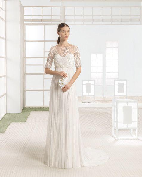 walter - novia 2017. colección rosa clará soft   vintage wedding