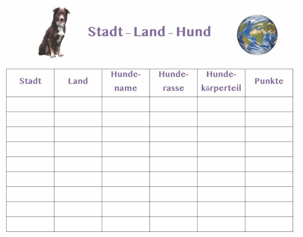 Stadt Land Hund Ein Spiel Nicht Nur Fur Hundekenner Taps
