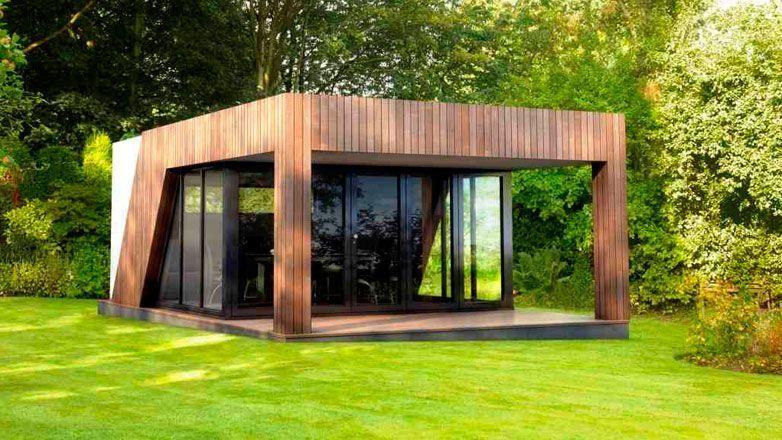Un casotto o una veranda lussuosa in giardino possono for Cottage molto piccoli