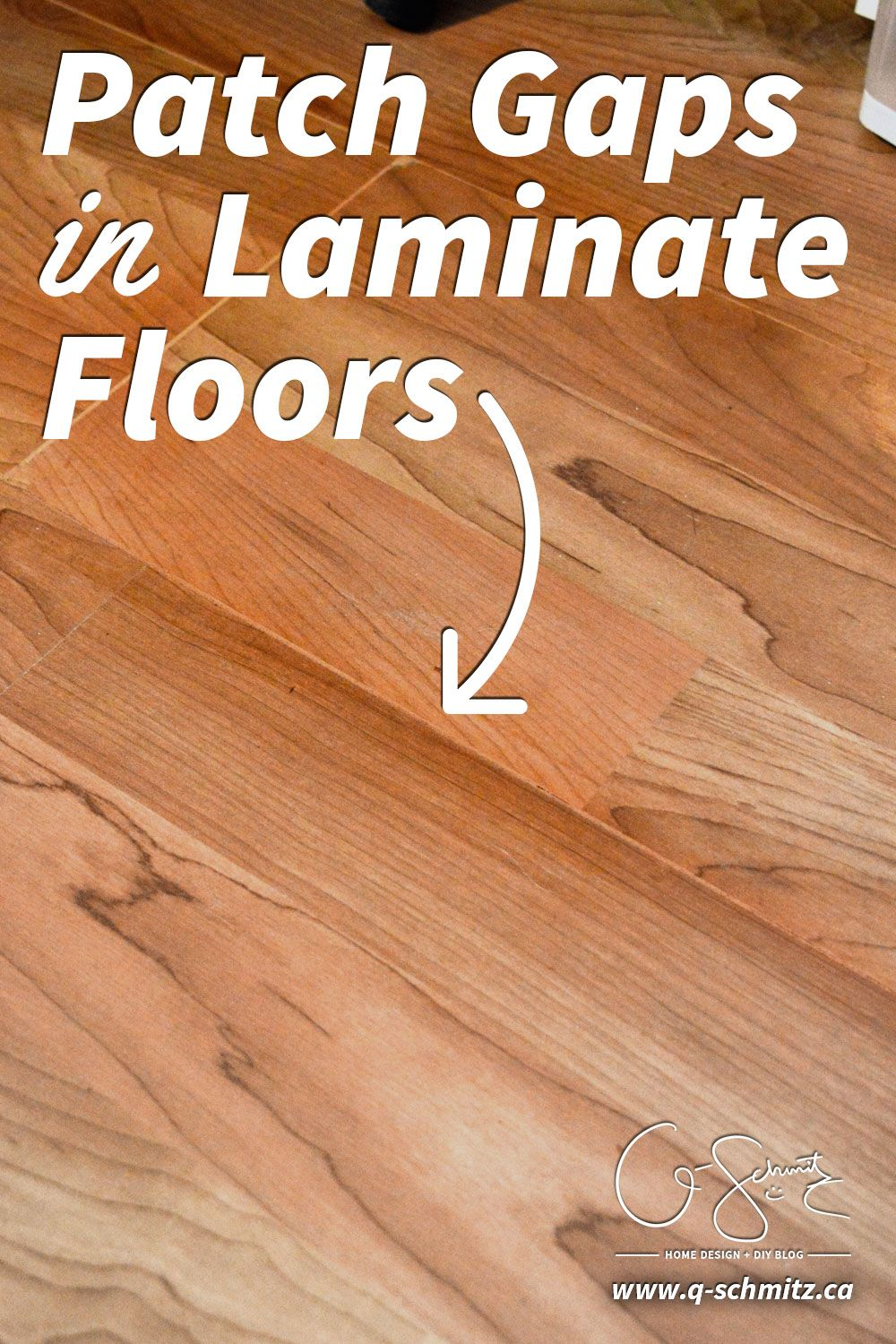 Patch Gaps In Laminate Floors Laminate Flooring Diy Laminate