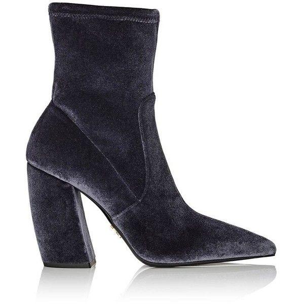 Prada Pointed toe chunky heel boots 4OKVF