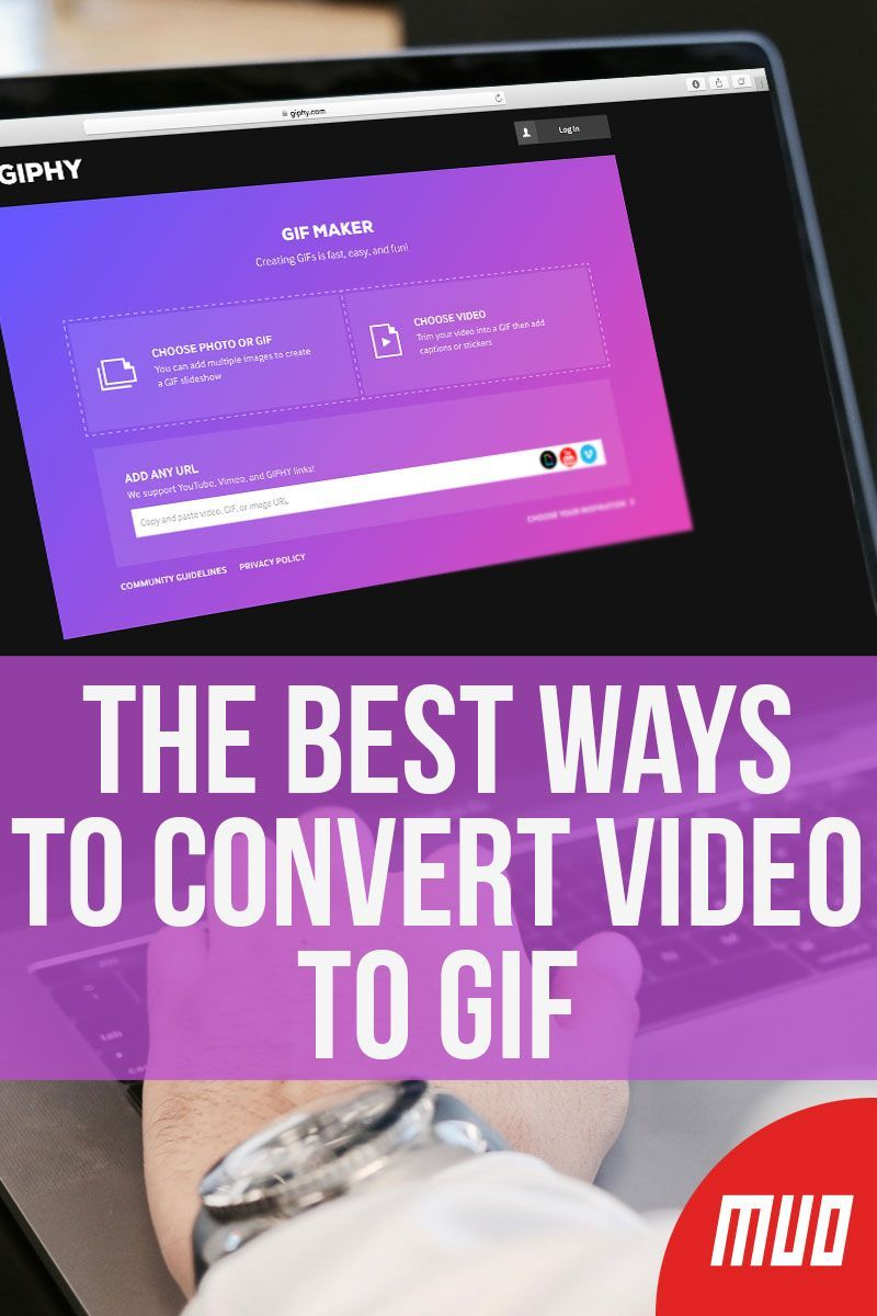 The Best Ways to Convert Video to GIF Messaging app